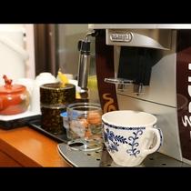 ■【館内】コーヒーの無料サービスもございます。滞在中はご自由にご利用ください。
