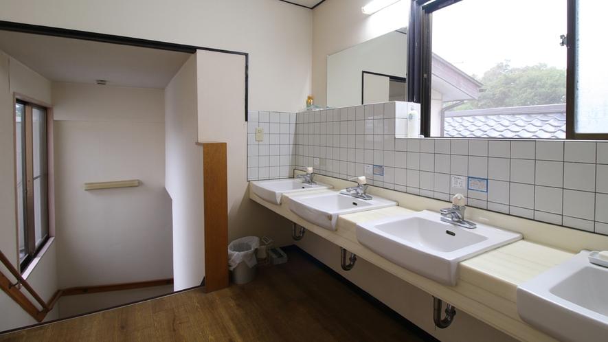 ■【館内】お手洗い・洗面所は共同となります。常に清潔を心掛けております。