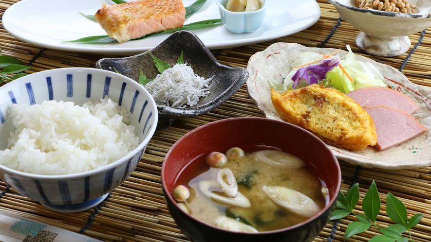 ■【ご朝食一例】手作り朝ごはん。