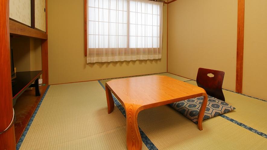 ■【客室一例・6畳】お部屋は当館おまかせです。ビジネスでのご利用も◎