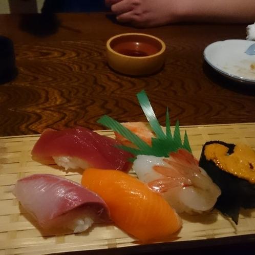 網走の寿司は最高です!