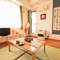 和室基調の居間