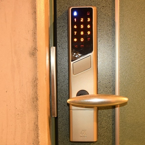 207号室電気錠