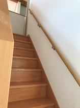 2階へどうぞ