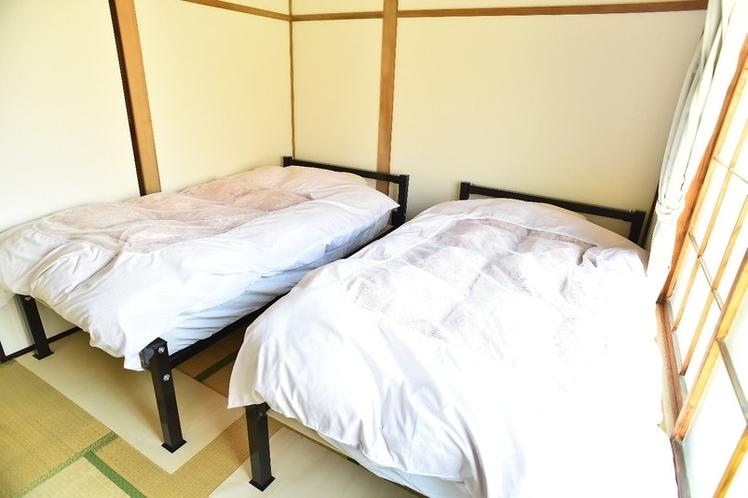 寝室2シングルベッド