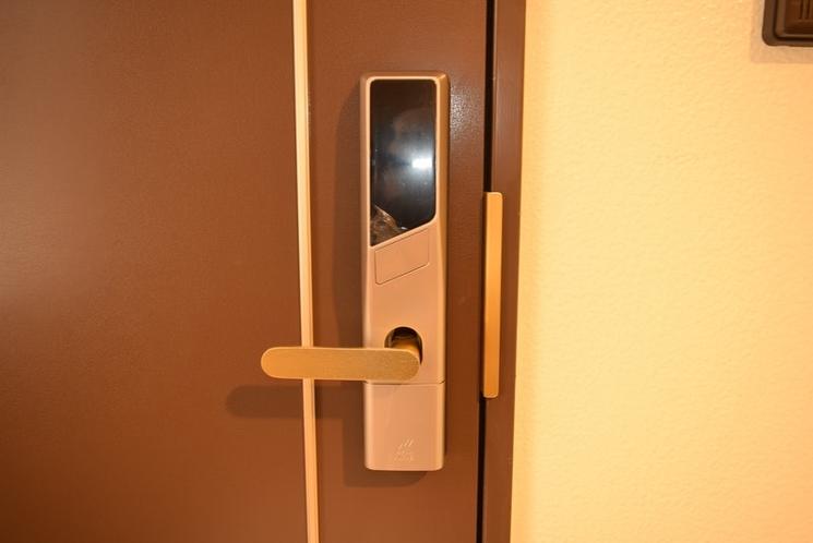 201号室入口電気錠