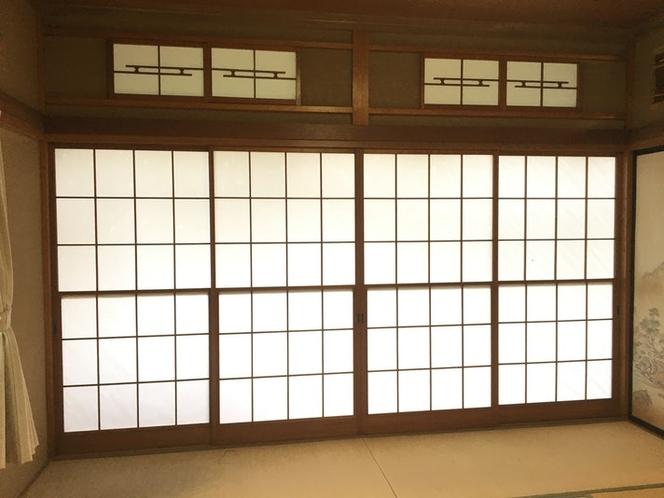 Beautiful Shouji door.