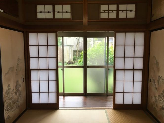 You have a Engawa beside Shouji door.