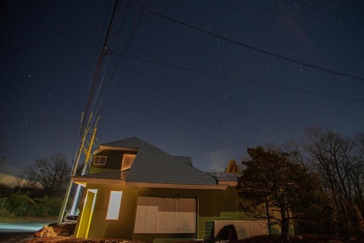 那須の夜空は格別に星空がきれいです。