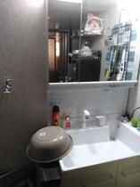 共同で使用できる、洗濯機、洗面所あり