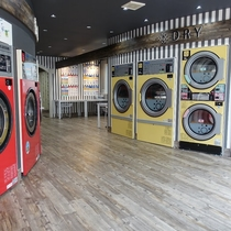 30m to the Laundromat