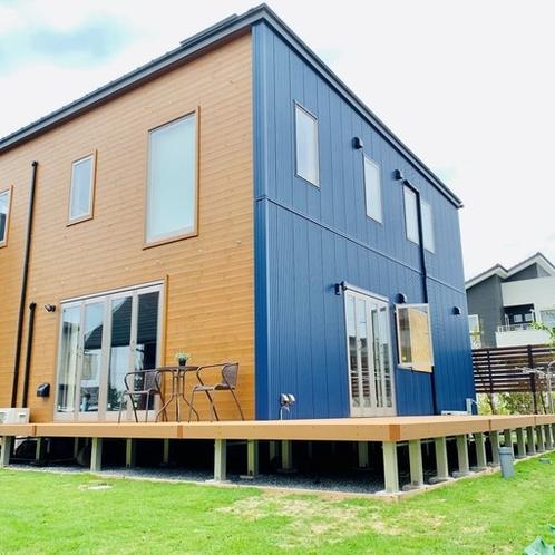 新築ログハウス
