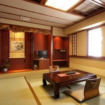 市街側檜内風呂付12畳和室【禁煙】