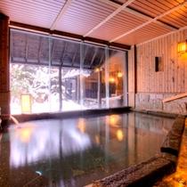 ≪壱の湯≫冬の内風呂