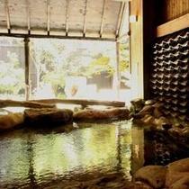≪壱の湯≫大浴場露天風呂