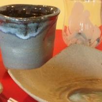 陶芸体験の作品
