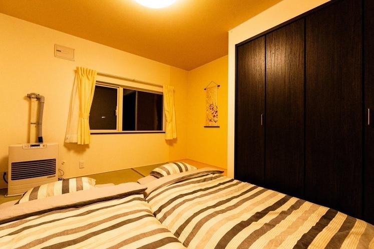 全ての寝室に広いクローゼットを完備