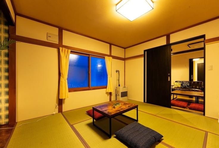 新品の畳の寝室