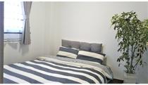 ベッドルーム3です。シングルベッド2台です。