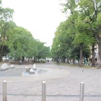 近くに大通り公園もあります。
