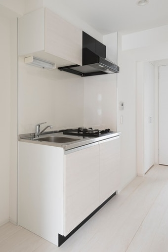 キッチン kitchen 2口ガスコンロ完備 Gas stove
