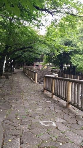 王子駅の公園
