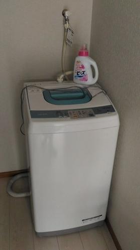 洗濯機、ご自由にお使いください