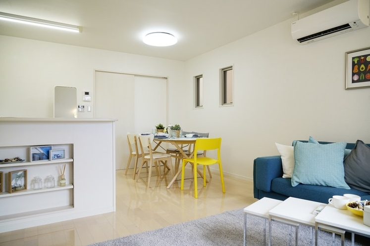 3LDK Well-recommended house for familie BLUE HOUSE