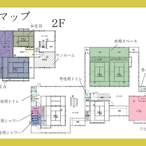 全館館内マップ