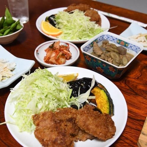 我が家の「夕食」1000円
