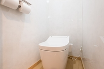 Toilet with heated seat