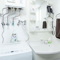 洗面化粧台&洗濯機