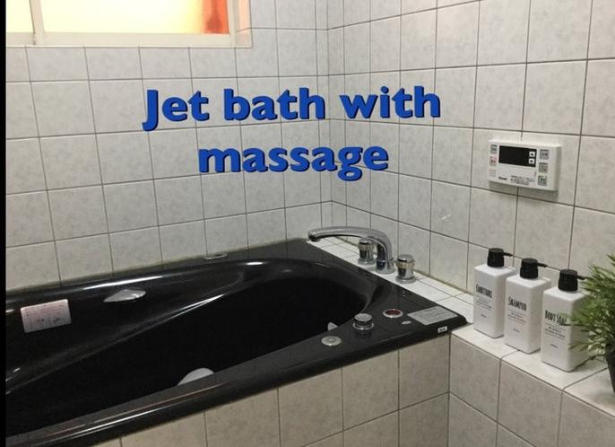 3階ジェットバス付きバスルーム