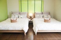 ~Bed Room 2~ Double sized Bed×2, Single sized Sofa