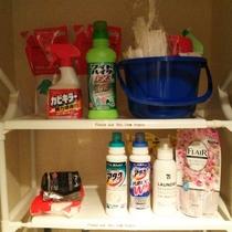 洗濯用洗剤・掃除用具 Laundry detergent / cleaning tools