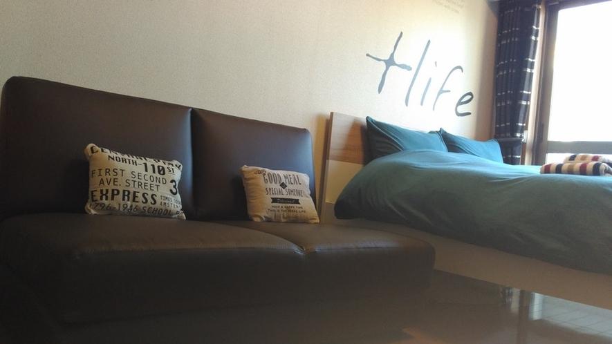ソファベッド Sofa bed
