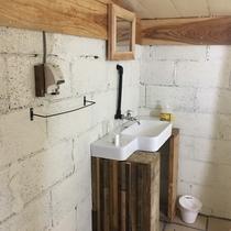 リノベーションされた洗面スペース