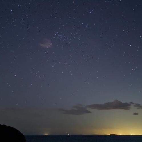 テラスからの夕景
