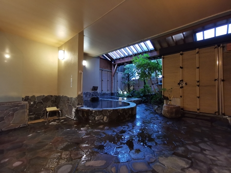 【日帰り入浴】貸切風呂時間:19:00〜19:45