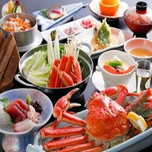 冬はやっぱり蟹!ズワイ蟹1杯など4種の蟹料理