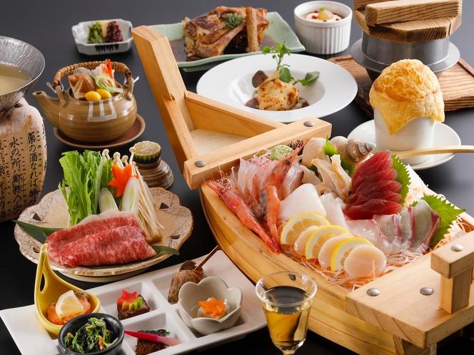 人気の創作料理「彩」アレンジ舟盛り イメージ