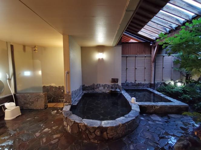 貸切風呂①ゆっかり広々メガ貸切風呂