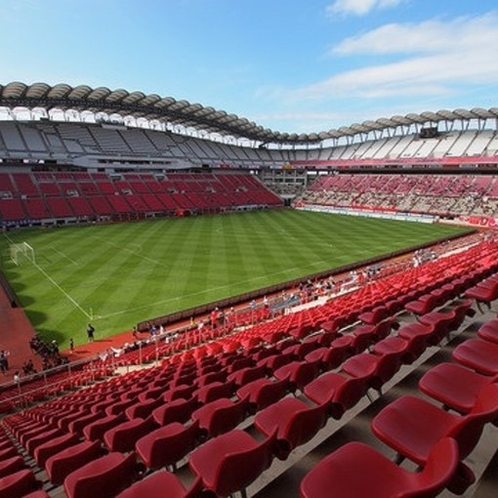 You could be a supporter of local Kashima football