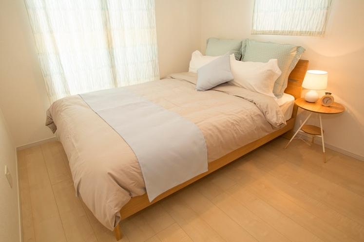 Bed Room 2 Double Bet 1Set / ベッドルーム 2 ダブルベッド×1