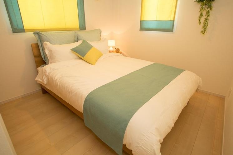 Bed Room 3 Double Bet 1Set / ベッドルーム 3 ダブルベッド×1