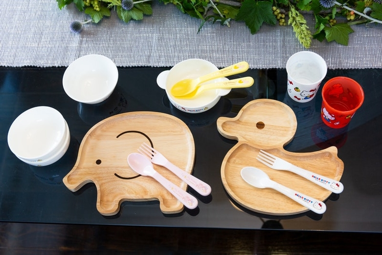 Kitchen amenity ( There are tableware for children