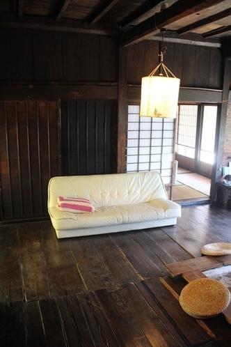 心地の良いソファーベッド。