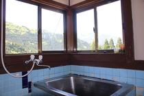 眺望最高のお風呂場。