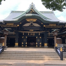 There is a Hachimangu Shrine a 2-minute walk.