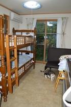 個室。No room shared